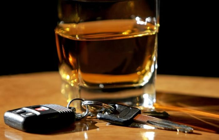 alcohol with car keys drink driving