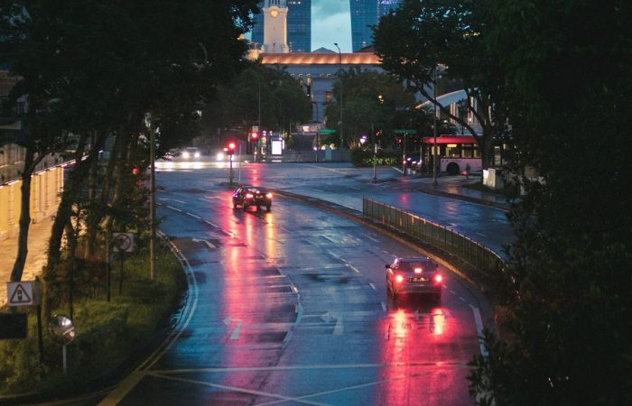 driving on flooded roads in singapore is dangerous